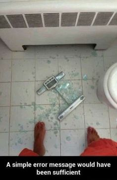 Omg!!! I feel like this is going to happen to me soon! My scale creaks when I get on!