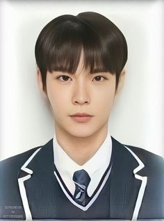 student id photo School Id, School Uniform, Back To School, Pass Photo, Id Photo, Nct Yuta, Nct Doyoung, Printable Pictures, Nct Life