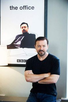 Ricky Gervais... Obviously.