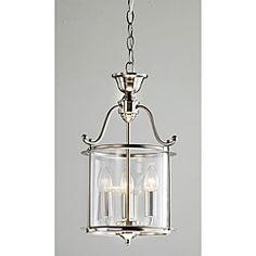 Lámpara colgante para interiores, níquel antiguo, 3 luces