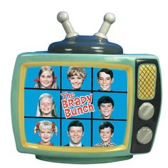 Westland Giftware The Brady Bunch Brady Bunch TV Cookie Jar, 10-1/2-Inch