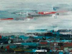 "Saatchi Art Artist Claudia Grutke; Painting, ""winter sea"" #art"