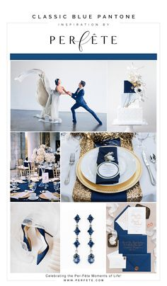 10 Wedding Planning Tasks You Can Do While in Quarantine - Perfete Pantone Color, Pantone Blue, Pantone 2020, Fall Wedding Colors, Floral Wedding, Color Of The Year, Wedding Inspiration, Wedding Ideas, Style Inspiration