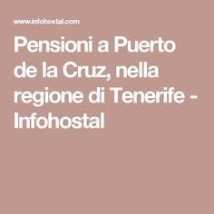 Pensioni a Puerto de la Cruz, nella regione di Tenerife - Infohostal