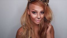 Drawing three eyeliner whiskers on each cheek is way too boring for Halloween. Instead, follow Sonjdra Deluxe's lioness makeup tutorial that takes your costume from basic to beautiful in just 10 minutes. Get the tutorial here »  - GoodHousekeeping.com