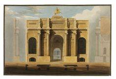 Bank of England City of London Sir John Soane Classical Architecture, Architecture Details, Le Siecle, Building Painting, Bank Of England, Composition Design, Architectural Drawings, Neoclassical, London City