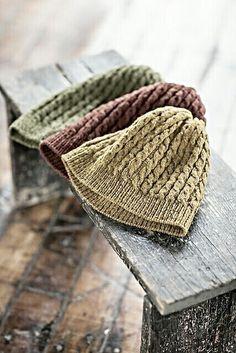 Knit autumn hats