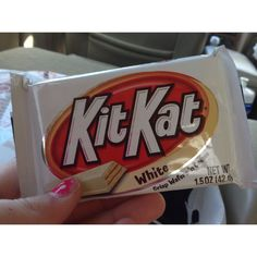 White chocolate kit kats