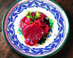 Pork in Beet Mole Recipe