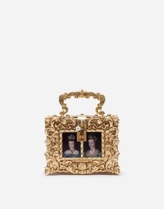 DG GIRLS BAG IN ORNAMENTAL JACQUARD WITH EMBROIDERY AND APPLIQUÉS Dolce & Gabbana, Brand Icon, Metallic Bag, Welcome Bags, Girls Bags, Fun Prints, Malachite, Purses And Handbags, Women Accessories