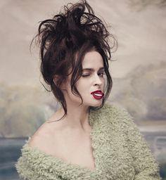 meanna, Hong Kong - - ♥ Queen Helena Bonham Carter ♥ Harry Potter ♥ Game of Thrones ♥ OITNB :) Helena Bonham Carter, Helen Bonham, Helena Carter, Moda Pinup, Mrs Lovett, Marla Singer, Bellatrix Lestrange, Pin Up, Portraits