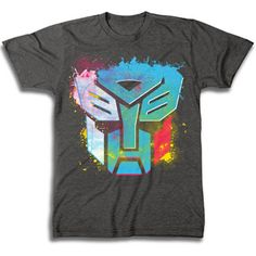 Men'S Graphic Tee Transformers Neon - - cool effect and colors for hockey shirt My T Shirt, Shirt Shop, Tee Shirts, Fly Gear, Statement Tees, Fashion Graphic, Cool Tees, Men Dress, Graphic Tees