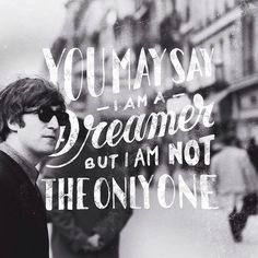 Instagram: 'You may say I'm a dreamer' by @markvanleeuwn