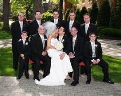 group wedding photo poses - Google Search