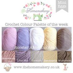 Crochet Colour Palette: Mini Eggs - The Homemakery Blog