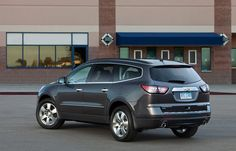 2014 Chevy Traverse earns a spot as one of KBB.com's 12 Best Family Cars.
