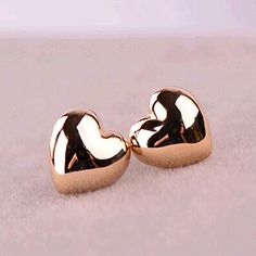 Stud Earrings Fashion Simple Vintage Heart Stud Earrings Wholesales Factory Direct Sales Jewelry Accessories This is an AliExpress affiliate pin. Item can be found on AliExpress website by clicking the image Gold Earrings Models, Gold Earrings For Kids, Gold Earrings Designs, Kids Earrings, Fashion Earrings, Women's Earrings, Silver Earrings, Wedding Jewelry And Accessories, Gold Jewelry