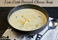 Low Carb Broccoli Cheese Soup. I didn't use the butter and added basil, garlic powder, and chipolte powder. Oh, and I also used a large zucchini and a bag of frozen cauliflower.