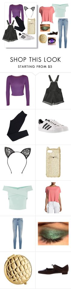"""Cosplay! Catty And Bratty"" by izzylaceyr on Polyvore featuring WearAll, Wolford, adidas, Fleur du Mal, Kate Spade, Eileen Fisher, Givenchy, Estée Lauder and Manolo Blahnik"