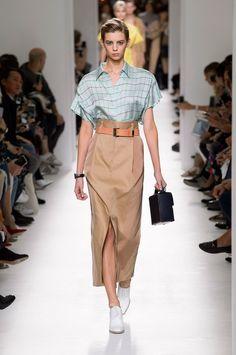 Мода весна – лето 2017 тренд сезона длинные юбки. Коллекция Hermes