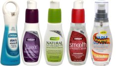 Lifestyles Aloe & Vitamin E, Natural Desire, Smooth 2 in 1 Massage, and Warm Lovin Water Based Personal Lubricants