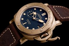 Special Edition – Luminor Submersible 1950 3 Days Automatic Bronzo – 47 mm (Image courtesy of Panerai)