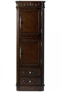 Winslow Corner Linen Cabinet - Linen Cabinets - Bathroom Cabinets ...