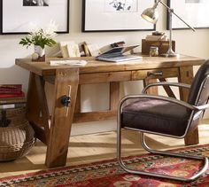 Awesome Pottery Barn Home Office Ideas