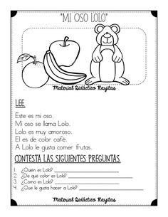 Way To Learn Spanish Design Studios How To Learn Spanish At Home Spanish Teaching Resources, Spanish Language Learning, Spanish Lessons, Learn Spanish, Spanish Worksheets, Speech Language Therapy, Speech And Language, Dual Language, Speech Therapy