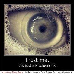 Trust me. It's just a kitchen sink.