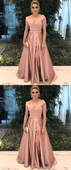 Upd0281, blush off shoulder prom party dresses, elegant long evening gowns, chic formal party dresses