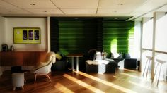 #zendesk #london #office Zen Desk, Offices, Vsco, Conference Room, Curtains, London, Table, Furniture, Home Decor