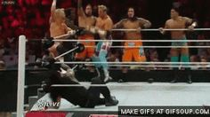 Roman Reigns Spear Zack Ryder | http://www.youtube.com/watch?v=j2iKoC9E698 Click here to create ...