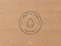 Ivan T. Yuen ceramics Ivan T. Yuen ceramics by Dousan Miao Ceramic Shop, Ceramic Art, Ceramic Pottery, Slab Pottery, Ceramic Bowls, Logo Branding, Branding Design, Brand Identity, Business Logo