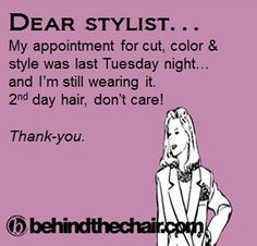Another satisfied client from Carmens Chair at Image Hair And Body Salon Hair Quotes, Me Quotes, Funny Quotes, 2nd Day Hair, Hairstylist Quotes, Laughing Quotes, Love My Job, Hair Humor, Cosmetology