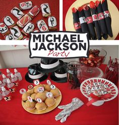 Michael Jackson Party Printable KIT MJ Digital by worldwideparty