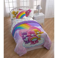 Twin Bedding Sets for Kids . Twin Bedding Sets for Kids . Twin Bed In Bag Sheet Set 5 Pc Care Bears forter Girls Twin Bedding Sets, Queen Bedding Sets, Comforter Sets, Girl Bedding, Twin Beds, Girls Bedroom, Bedroom Ideas, Bedroom Decor, Frozen Bed Set