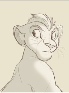 kion doodle from http://kitchikishangout.tumblr.com/tagged/the-lion-guard