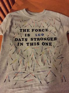 Star Wars 100 Days of School shirt