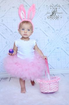 Halloween Bunny tutu costume available in PINK by BowPeepsAndMore, $42.00