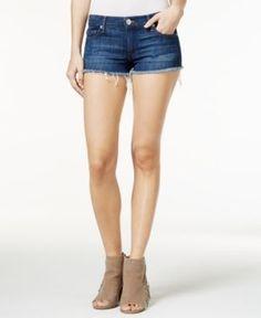 True Religion Joe Cutoff Denim Shorts - Blue 31