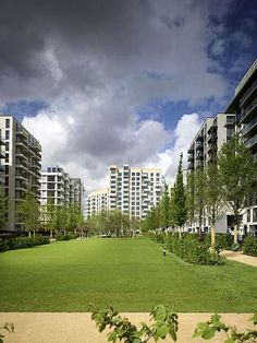 Athletes Village, plot N13 London Olympics 2012  C.F. Møller. Photo: Chris Gascoigne