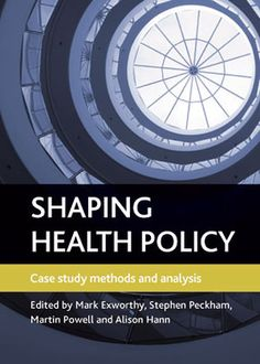 Shaping health policy