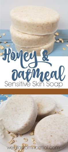 Sensitive Skin Handmade Cold Process All Natural Soap Clear And Distinctive Unscented