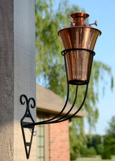 Kona Deluxe Smooth Nickel Sconce Torch