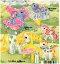 My Little Pony Loving Family playsets ...