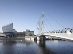 Gallery of Media City Footbridge / WilkinsonEyre - 1
