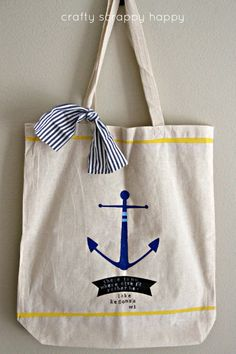 Dress up a plain tote with Elmer's Painters! #ExpressYourself