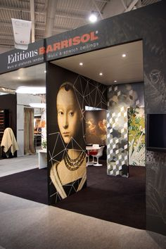 Stand editions BARRISOL Artolis & Barrisol Interior design SYSTEMS for wall and ceilings