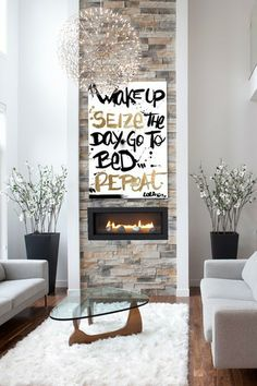 Oliver Gal Seize the Day Fine Art Canvas by Oliver Gal Gallery on @HauteLook